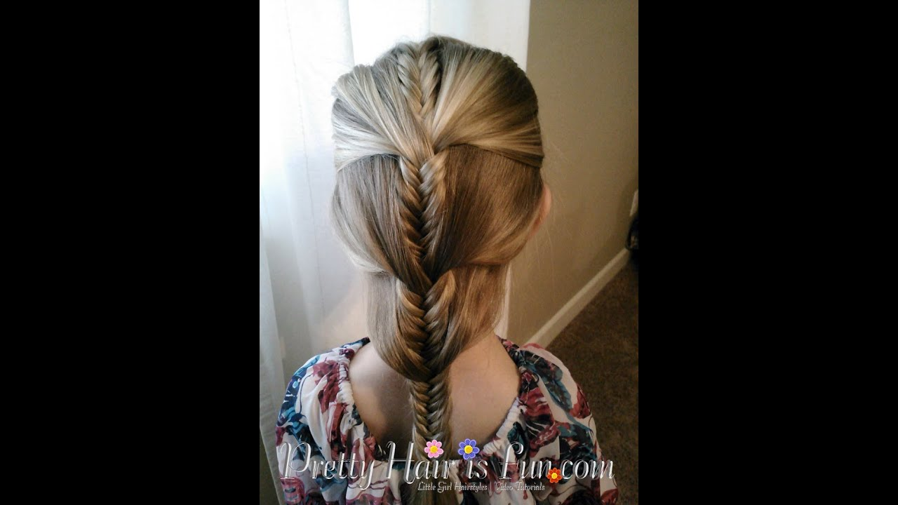 Fun Braids For Bad Hair Days: How To: Fishtail Progressive Braid