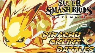 Pika Pika   Super Smash bros Ultimate Pikachu Online Gameplay #2