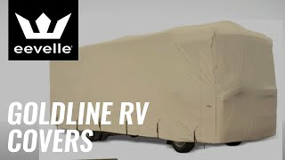 Goldline RV Covers and Goldline Travel Trailer Covers Manufactured By Eevelle