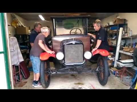 Starting My Uncle Paul's 1919 Ford Model T