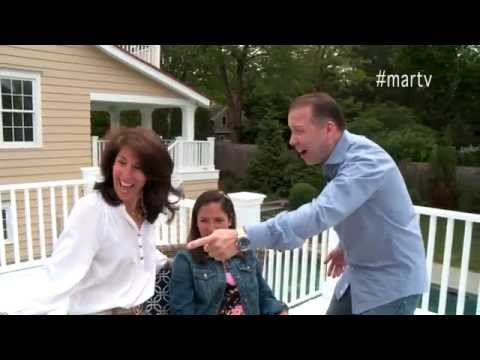 LIFE ON MAR'S: Home Makeover Show Episode 2 Outdoor Rooms, Decks & Terraces