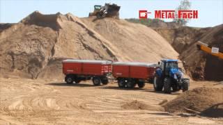 Przyczepy rolnicze T739, T755 Metal-Fach
