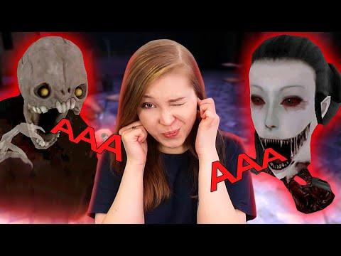 НОВЫЕ ЗВУКИ МОНСТРОВ И ДОПОЛНЕННЫЙ СЮЖЕТ ШКОЛЫ! [Прохождение Eyes - The Horror Game]