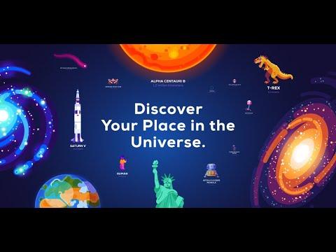Universe in a Nutshell (App Trailer)