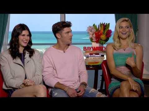 Zac Efron Is Shocked By 'Baywatch' Co-Star Kelly Rohrbach