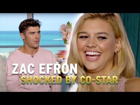 Zac Efron Is Shocked By 'Baywatch' CoStar Kelly Rohrbach
