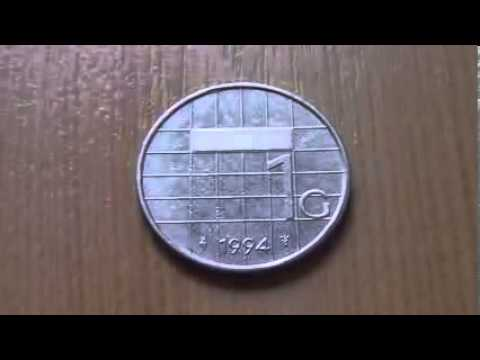 1 Guilder Cent coin of the Netherlands from 1994 in HD