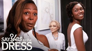 Fashion Stylist Mother Helps Bride Find a Dress With an Exposed Back! | Say Yes To The Dress Canada
