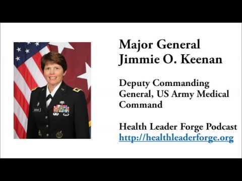 Major General Jimmie O. Keenan, Deputy Commanding General, US Army Medical Command