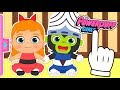 👶 BABY POWERPUFF GIRLS 👶 Gameplay with Blossom, Bubbles and Buttercup | Baby Cartoons