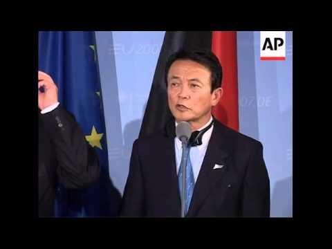 Bi-lateral meeting on fringe of ASEM summit