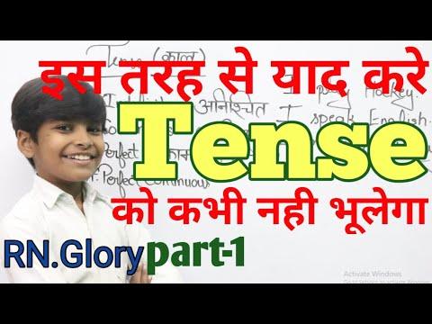 Tense Ki Basic Jankari In Hindi || Basic Tense English Grammar Present Past And Future With Example