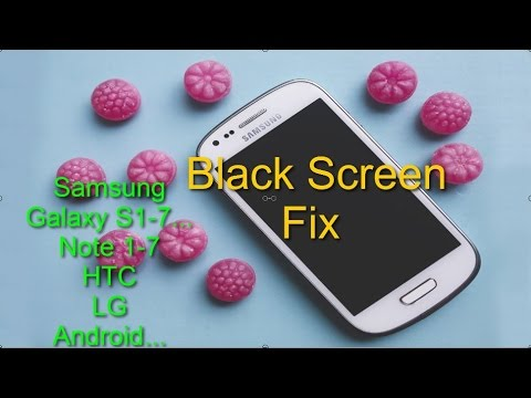 Fix Black Screen issue for any Samsung Galaxy or other Android