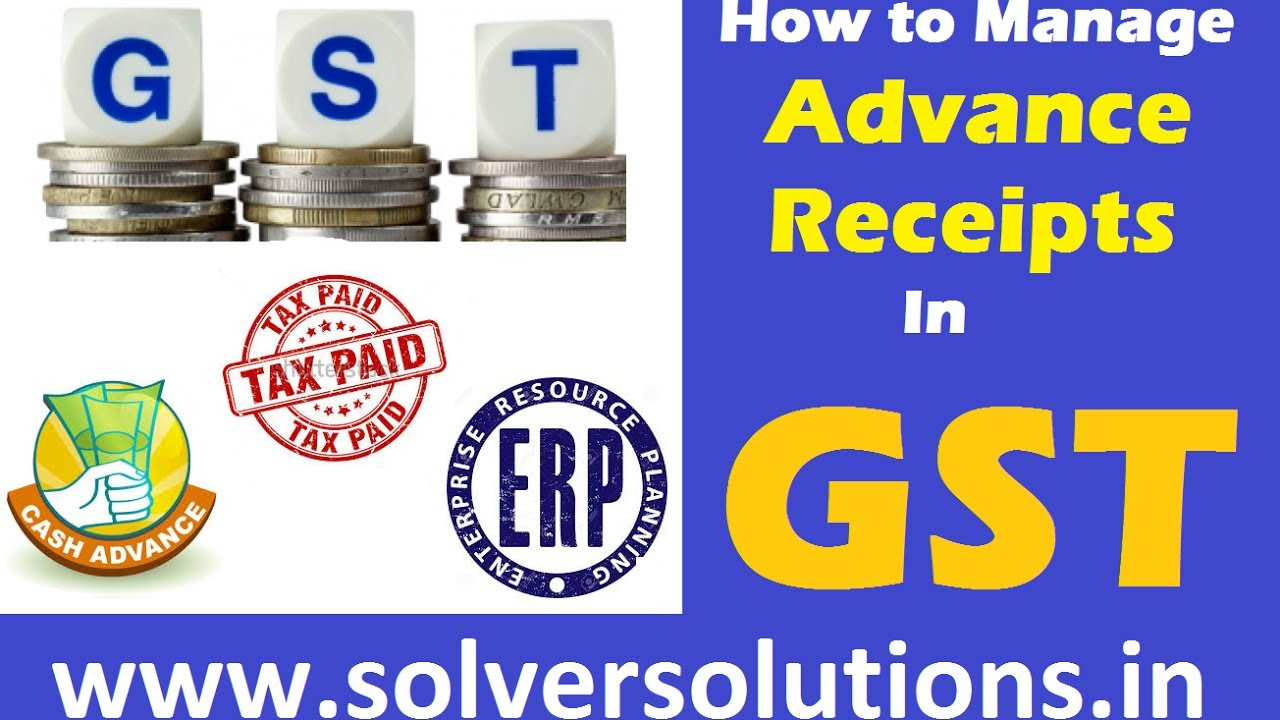 New York Taxi Receipt Blank Word Gst  How To Manage Advance Receipts And Generate Invoices Gstr  Cash Receipts And Disbursements Word with Factoring Vs Invoice Discounting Gst  How To Manage Advance Receipts And Generate Invoices Gstrefiling  Process Create Your Own Invoice Template