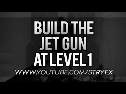 Black Ops 2 building jet gun ( Wonderweapon) At level 1 !