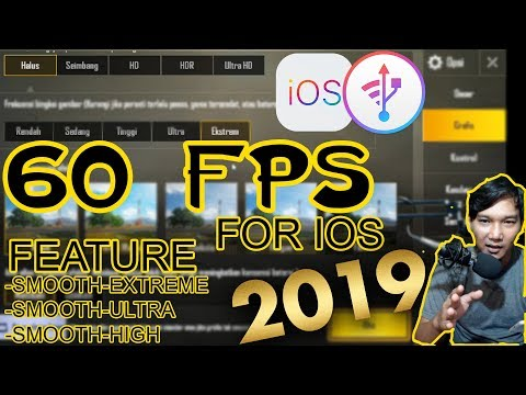 Setting 60 FPS PUBGM FOR IOS 2019 | SEASON 5 - YouTube