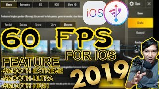 Setting 60 FPS PUBGM FOR IOS 2019 | SEASON 5