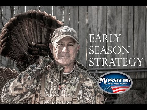 Early Season Turkey Hunting : HUGE BOSS TOM Tactics