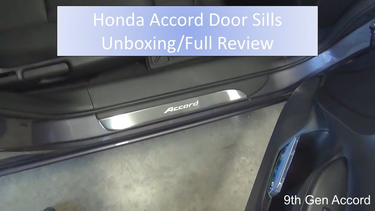 Honda Accord Led Door Sills Unboxing Full Review