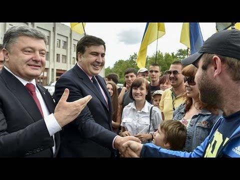 Saakashvili Takes the Bus on the Road to Reform Ukraine