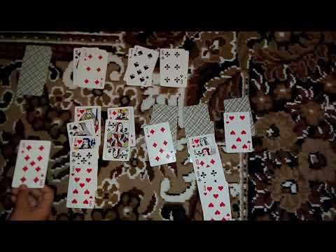 Как играть в косынку в реальной жизни колодой из 36 карт