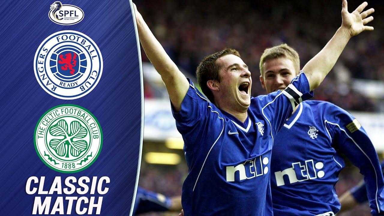 Download Classic Match!   Rangers 5-1 Celtic (26/11/00)   SPFL