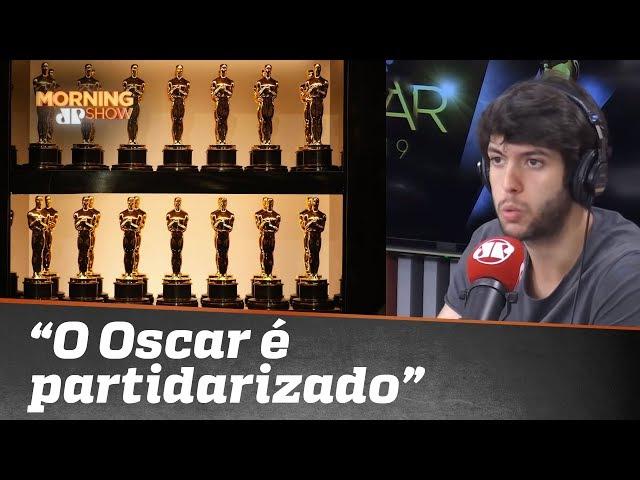 """""""O Oscar é partidarizado"""", diz Caio Coppolla"""