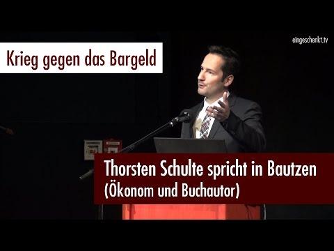 """""""Krieg gegen das Bargeld"""" - Thorsten Schulte (Der Silberjunge) spricht in Bautzen (12.12.2016)"""