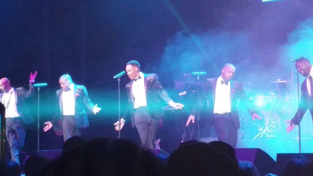 NEW EDITION LIVE CHRISTMAS N THE CITY count me out - YouTube