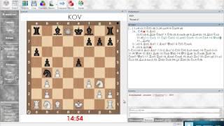 Разбор шахматной партии. Сицилианская защита (Олеся черными). Урок 20 (часть 1)
