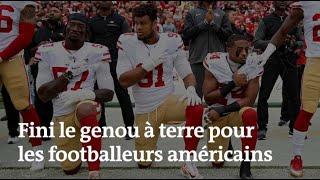 Les footballeurs américains n'ont plus le droit de s'agenouiller pendant l'hymne national