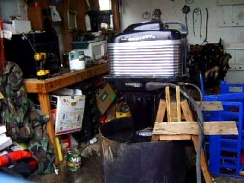 Mark 58 outboard youtube for Mercury outboard motors for sale in florida