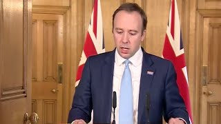 WATCH: UK officials hold daily press conference on latest news on coronavirus