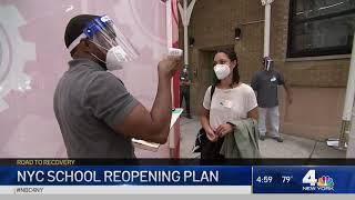 NYC Announces School Reopening Plan | NBC New York Coronavirus Update