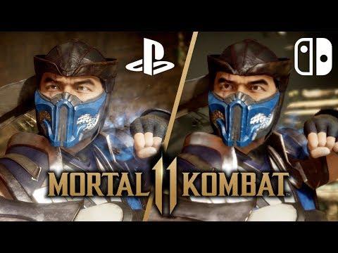 Mortal Kombat 11 Switch Vs PS4 ULTIMATE Comparison!