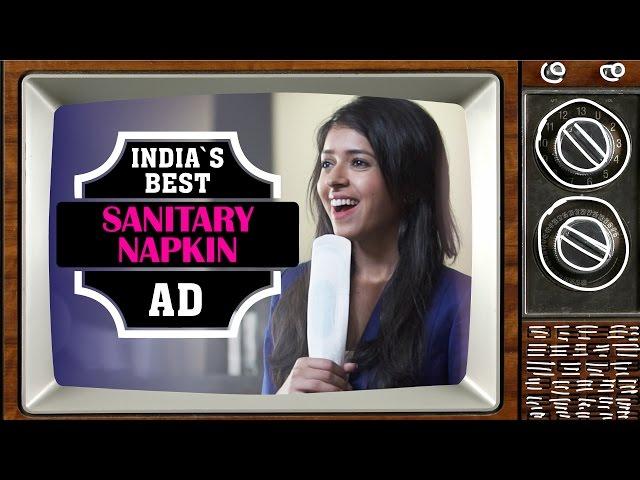 Indias Best Sanitary Napkin Ad #BeingIndian