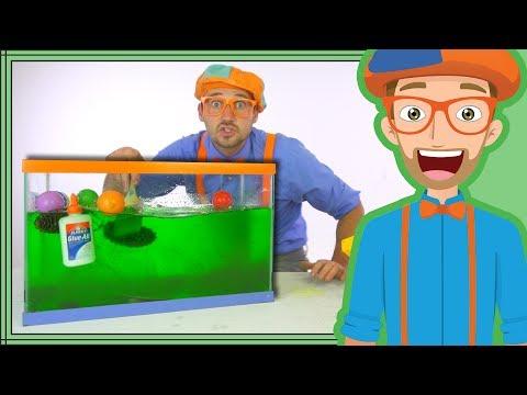 Blippi Slime | Sink or Float Science for Kids