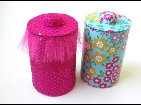 diy:-storage-jars-&-lids---recycling-cardboard
