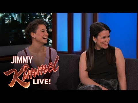 Abbi Jacobson & Ilana Glazer on Their Broad City Characters ...