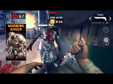 Dead Trigger 2  Africa/Defense  What?! Rager glitch, look at him : 1:43
