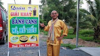 """Buổi sáng sớm refresh với bánh canh """"dẹp"""" ven đường Chi Lăng, Tịnh Biên, An Giang"""