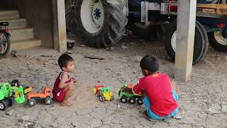 Car And Trucks For Children | Kid Play Toys Cars