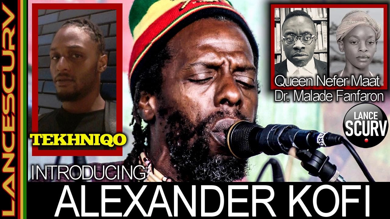 INTRODUCING ALEXANDER KOFI & BROTHER TEKHNIQO! - The LanceScurv Show