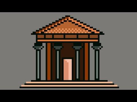 Pixel Art Timelapse | Ancient Greek Architecture