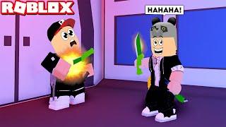Patlayan Bıçak Gücünü Kullandım Katil Kim - Panda Ile Roblox Murder 15