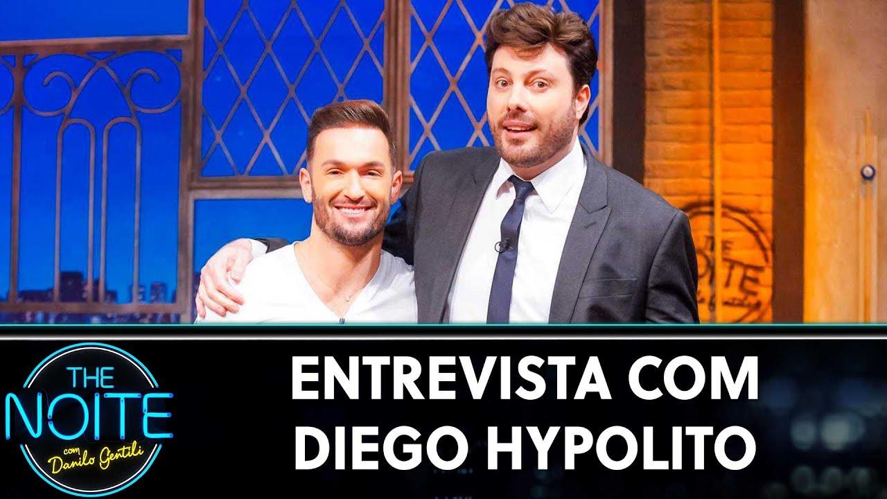 Entrevista com Diego Hypolito | The Noite (08/07/19)