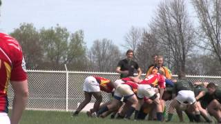 Clarion Rugby Vs Slippery Rock Rugby 4/25/2015