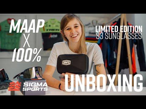 MAAP x 100% LTD S3 Sunglasses Unboxing   Sigma Sports