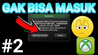 MENGATASI TIDAK BISA MASUK KE XBOX 360 + CARA MENDAPATKAN KOIN KERANG GRATIS - Tutorial Android #2