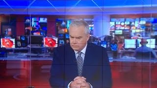 BBC anchor freezes during four-minute flub